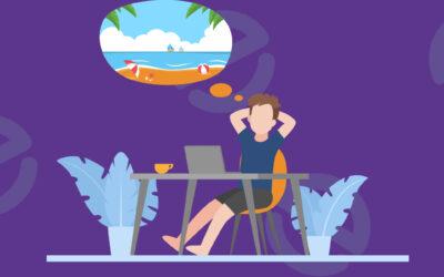 Werksleur tijdens jouw thuis vakantie? Zo creëer je een vakantiegevoel.